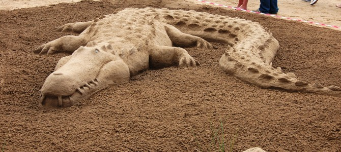 UK National Sandcastle Competition – Croyde Beach