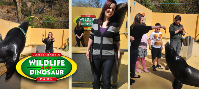 Days out at a Wildlife Dinosaur Park at Combe Martin